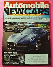 AUTOMOBILE MAGAZINE OCT/2011...SPECIAL 2012 PREVIEW: FIRST DRIVES & 82 NEW CARS