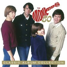 THE MONKEES - COMPLETE ALBUM COLLECTION CLAMSHELL-BOX 10 CD NEU