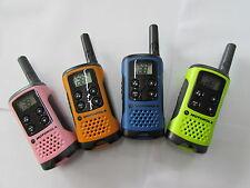 4er Set Motorola Funkgeräte PMR TLKR T41 in 4 verschiedenen Farben