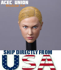 1/6 Kristanna Loken Head Sculpt Terminator 3 T-X IN STOCK For Hot Toy Phicen USA