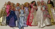 Big Lot of 10 BARBIE and Friends Dolls most blonde dressed evening gown