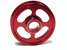 OBX Underdrive Crank Pulley 2002- 2006 Acura RSX Type-S TSX Accord Red