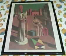 Giorgio de chirico - le muse inquietanti - stampa litografica