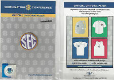 LSU SEC Conference Jersey Uniform Patch 100% Official College Football Logo