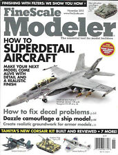 Fine Scale Modeler Nov.2013 Hasegawa F/A-18F Decals Apollo 7 Saturn Groundwork