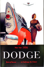 1956 Dodge Car Owners Manual 56 Coronet Lancer Royal Sierra Suburban Owner Guide