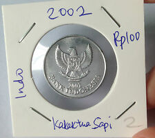 OFFER Indonesia 100rp coins 2002 VN