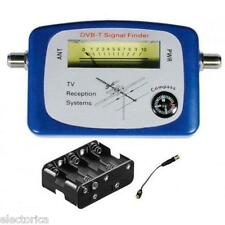 ANTENNA SIGNAL METER FINDER COMPASS BUZZER OTA HD TERRESTRIAL DVB-T OVER TV AIR