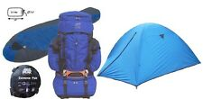 3Pc PKG 81.9L INTERNAL FRAME BACKPACK, BKPK TENT ALUM. POLES, 0 DEG EXTREME BAG