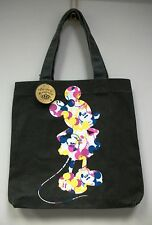 NEW DISNEY COUTURE MICKEY MOUSE CANVAS TOTE BAG SHOPPER HOT TOPIC STORE