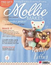 MOLLIE MAKES CRAFT MAGAZINE ISSUE 37 SEWING, CROCHET, KNITTING & MUCH MORE
