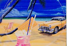 CP / POSTCARD / ILLUSTRATEUR / THE CAR / VOITURE / BEACH  PAR BERTRAND