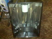 Pfo Metal Halide Hood For 400/250/175 Watt Bulb, Has 6' Cord w/Glass Shield NEW!