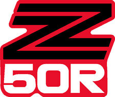 HONDA Z50R 1979 NUMBERPLATE DECAL  REPRO