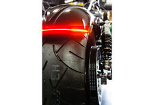 .1x Flexible Audi Style Neon Red Tube DRL LIGHT FOR CARS / BIKES 30cm