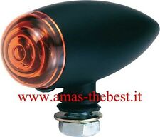 Freccia Best Lamp AM.2622.A nero opaco lente arancio modifiche cafe racer