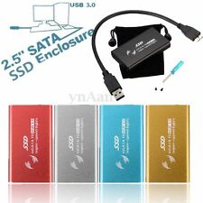 1.8inch mSATA USB 3.0 External Enclosure Converter Adapter Mini SSD Case Caddy