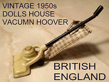 * VINTAGE 1950s * DOLLS HOUSE VACUMN CLEANER / HOOVER - BRITISH ENGLAND *