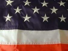 HUGE SIZE USA 8 X 12 EMBROIDER NYLON AMERICAN FLAG 8X12 UNITED STATES AMERICA