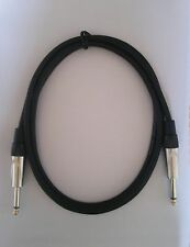 3 ft foot feet 1/4 TS mono pro PA patch guitar keyboard cable instrument cord