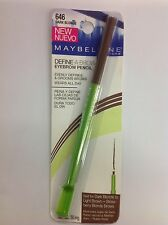 Maybelline Define-A-Brow Eyebrow Pencil DARK BLONDE #646 NEW.