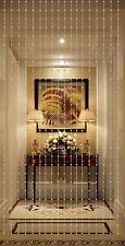 Beautiful Home Decor Acrylic Beaded Curtain - Silver Balls