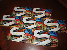 "7 Sealed Collector Packs Stride ""Forever"" Fearless Fruit Gum (Discontinued)"