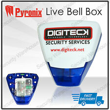 Pyronix deltabell X Alarma Antirrobo Exteriores Bellbox Led Lightbox Sounder Sirena