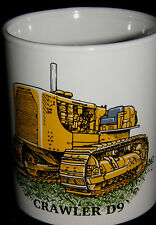 BN Caterpillar Crawler D9 Stoneware Mug,  Construction and Plant Mug, 1/2 pint