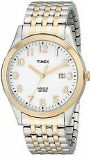 Timex T2P202, Men's 2-Tone Expansion Band Watch, Date, Indiglo, T2P2029J