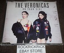 THE VERONICAS - ON YOUR SIDE -2 TRACK CD- (BRAND NEW)