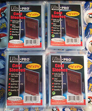 400 Penny/Clear CARD SLEEVES Pokemon/MTG/Sport Complete Set ULTRA PRO Protector