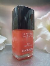 CHANEL LE VERNIS NAIL COLOUR 307 ORANGE FIZZ BRAND NEW NO BOX & SCRATCHED CAP
