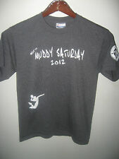 Not So Muddy Saturday Volleyball 2012 Notre Dame Club San Francisco T Shirt Sm