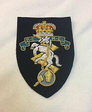 REME Blazer Badge, Royal Electrical Mechanical Engineers, Army, Military, Jacket