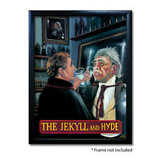 JEKYLL & HYDE PUB SIGN POSTER PRINT | Home Bar | Man Cave | Pub Memorabilia