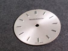 Jaeger Lecoultre dial 19043 SILVER approx 20.5mm diameter, for watch repair/part