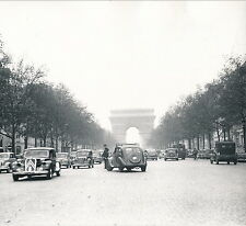 PARIS c. 1950 - Traction Champs-Elysées Arc de Triomphe Paris  DIV 4846