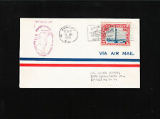 Airport Dedication Cover 1929 Scott C11 Newark Violet Air Mail Field Cleveland ú