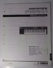 Original Yamaha PortaTone PSR-11 Digital Keyboard SERVICE Manual