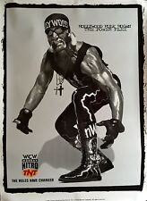 "HULK HOGAN WCW ORIGINAL TNT WRESTLING POSTER 45"" X 32"" 1997 ROLLED MINT"