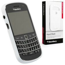 NEW GENUINE BLACKBERRY BOLD 9900 9930 HARD SHELL CASE COVER WHITE ACC-38874-202