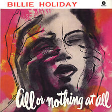Billie Holiday - All Or Nothing At All LP + Bonus Audiophile 180 Gram Vinyl UK