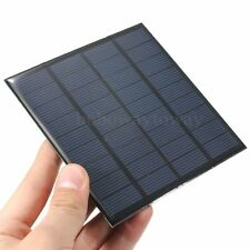 2W 9V Mini Epoxy Solar Panel Module DIY Solar System For Phone Cell Charger New