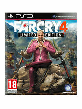 Far Cry 4 -- Limited Edition (Sony PlayStation 3, 2014) pal uk version
