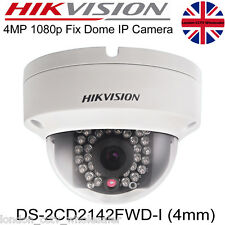 Regno Unito HIKVISION 4MP 4mm 2.8 mm IP Network Dome Camera PoE ONVIF WDR ds-2cd2142fwd-i