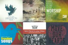 Lot of 60 Worship CDs, 6 Titles, 10 each (Time Square Church, Grace Chapel)