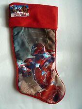 """NEW Marvel Captain America Civil War Christmas Stocking 18"""""""