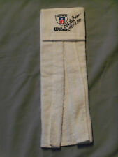Pgh Steelers, Dick LeBeau, Signed, White, Wilson NFL Equipment Towel, Clean