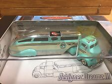 Hot Wheels 2003 100% Designer Dreams '38 Ford COE & Camp Trailer w/Real Riders